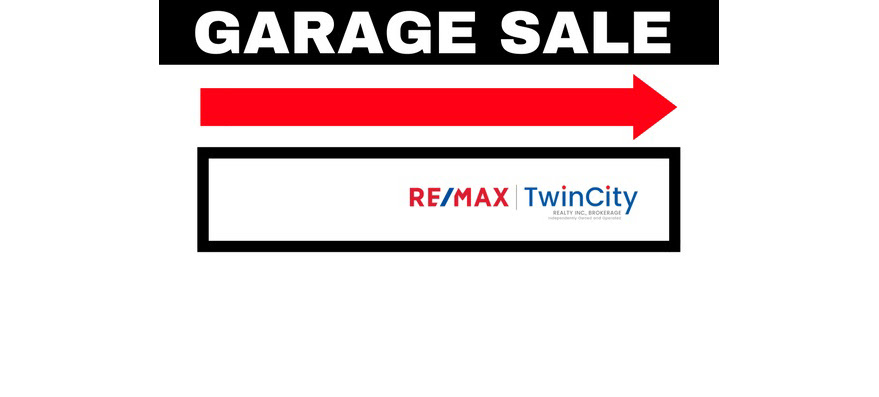 Claim your free garage sale sign now!
